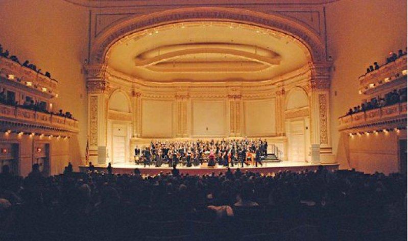 In der New Yorker Carnegie Hall erklang Johann Sebastian Bachs H-Moll-Messe. Foto: L' Ensemble Medicale