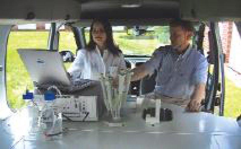 Das mobile Labor soll die Therapiekontrolle auch in ländlichen unterentwickelten Regionen ermöglichen. Foto: CyTecs