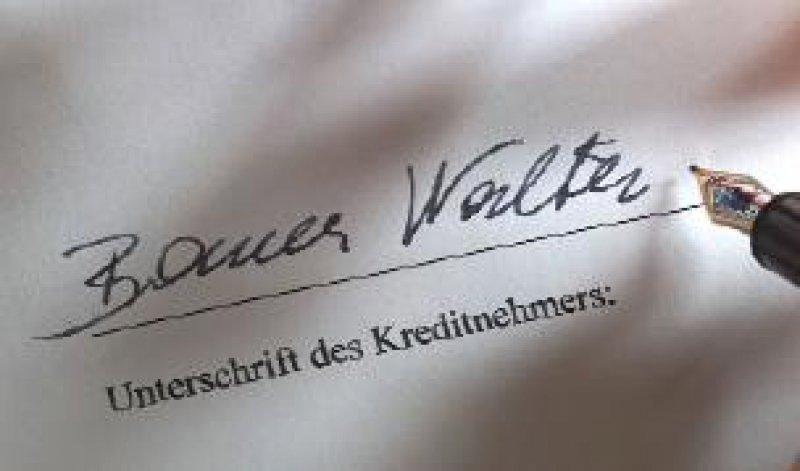 """Experten warnen: Spätestens im nächsten Jahr werden die meisten Firmenkunden nach den Kriterien von """"Basel II"""" geratet. Foto: BilderBox"""