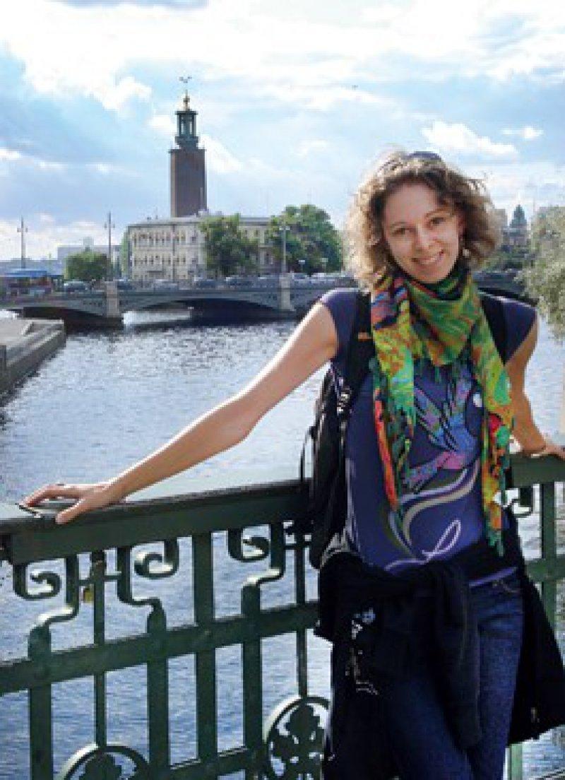 Stefanie Augenschein möchte ihre vierwöchige Famulatur in Schweden nicht missen. Foto: privat