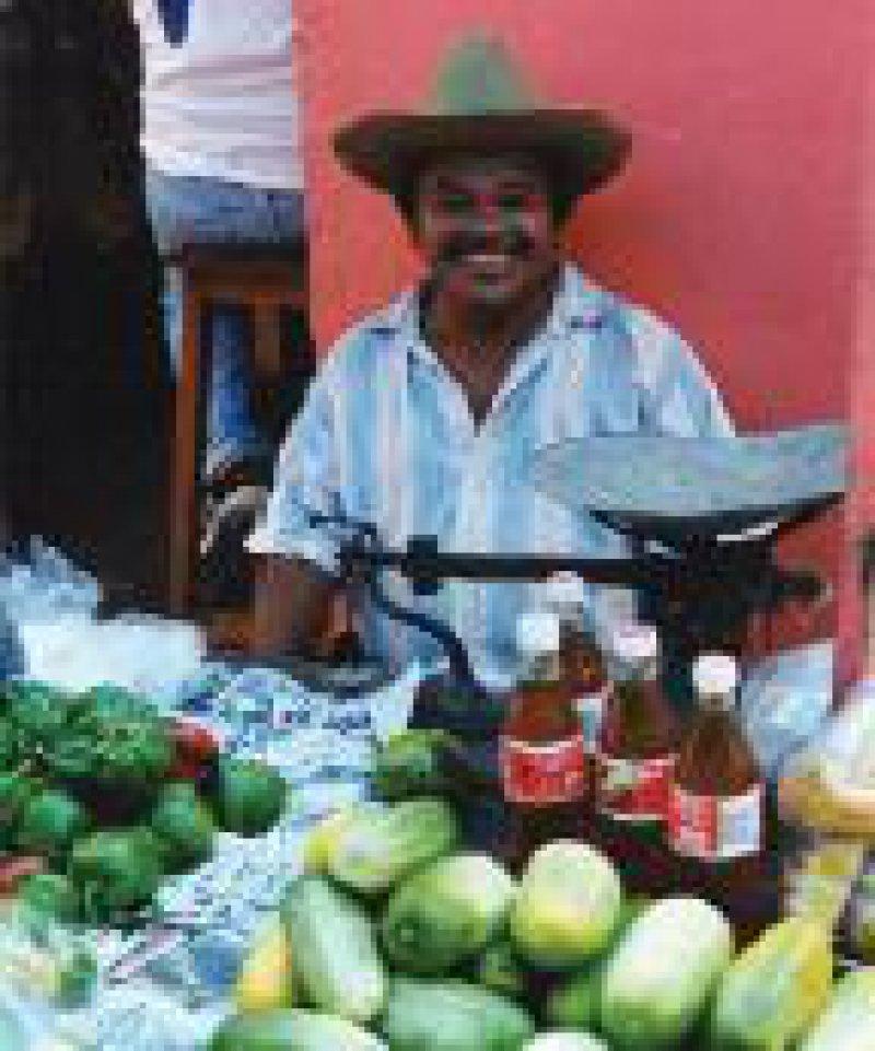 Yukata´n/Mexiko: Markttag Foto: Harald Clade