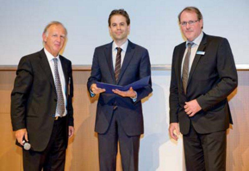 Peter Malfertheiner, Tom Lüdde und Klaus Schwartze (von links). Foto: Franziska Richter, zweig industries