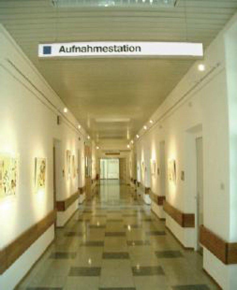 Eigenständige interdisziplinäre Abteilung zur zentralen Aufnahme der Patienten Fotos: privat