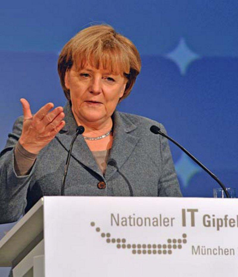 """""""Die Möglichkeiten der Telemedizin werden uns in den nächsten Jahren sicherlich noch ganz besonders beschäftigen."""" Angela Merkel. Foto: dpd"""