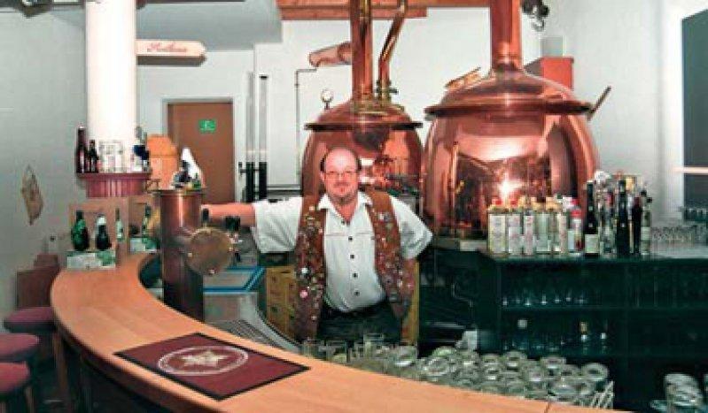 Biersommelier Bernhard Sitter feilt am Image des Gerstensaftes. Fotos: Ulrich Traub