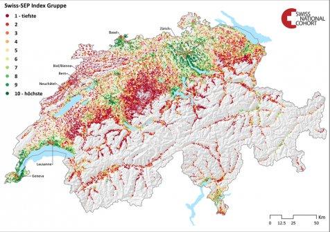 Schweiz erh htes sterberisiko in rmlichen wohngegenden for Medizin studieren schweiz