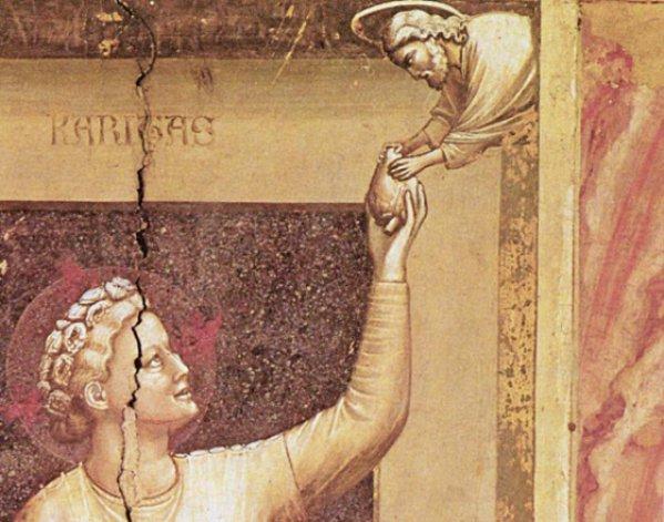 Medizingeschichte: Das Herz von Giottos Caritas