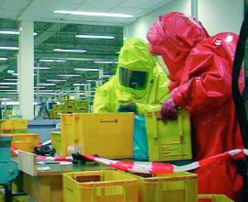 Vermeintliche Milzbrandbriefe führten bei der Post zu erheblichen Verzögerungen. Foto: dpa