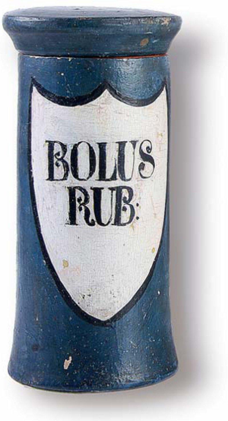 """Der aus Armenien importierte Bolus, ein rötliches Ton - mineral, kam im 16. Jahrhundert als Ersatzmittel für die begehrte """"Terra lemnia"""" in die Apotheken."""