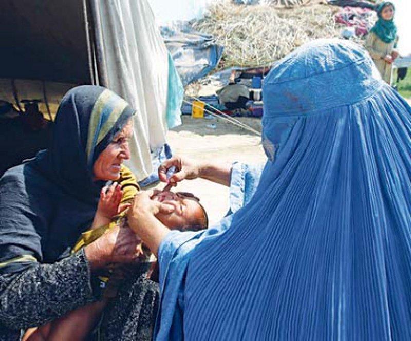 Endemisch kommt die Poliomyelitis derzeit nur noch in drei Ländern vor: Afghanistan, Pakistan und Nigeria. Foto: picture alliance