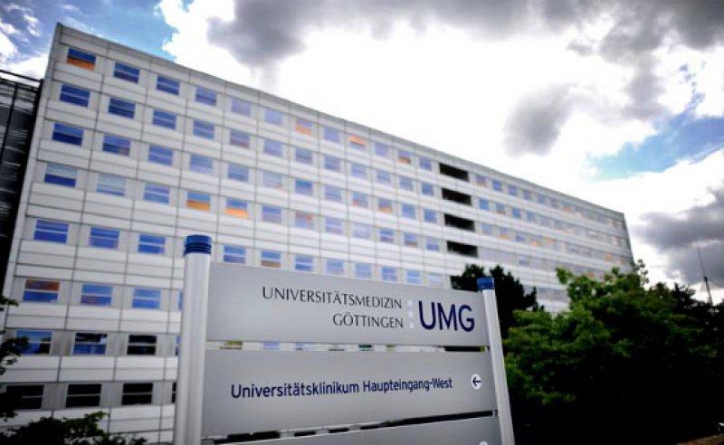Universitätsklinikum Göttingen: Der angeklagte Mediziner war dort leitender Oberarzt der Abteilung Transplantationschirurgie. Fotos: DPA