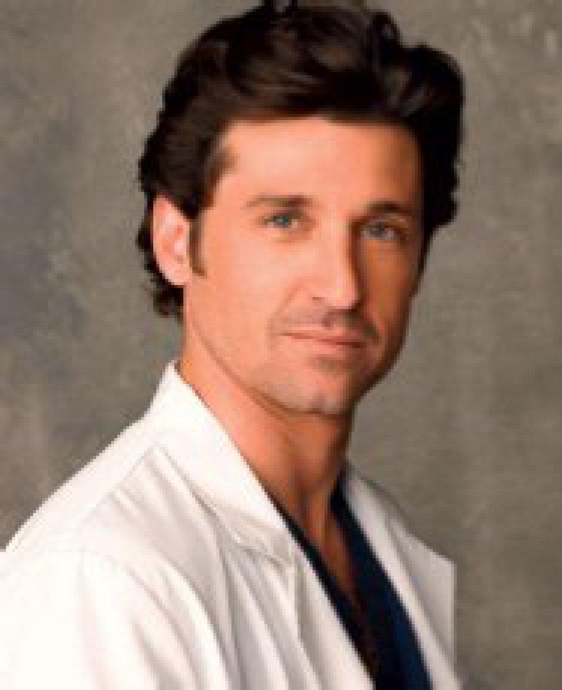 """Dr. Derek Shepherd, der smarte Arzt aus """"Grey's Anatomy"""", wird von Patrick Dempsey gespielt. Foto: pa"""
