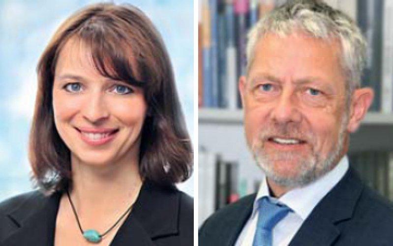 Eva Richter-Kuhlmann, Politische Redakteurin undEgbert Maibach-Nagel, Chefredakteur