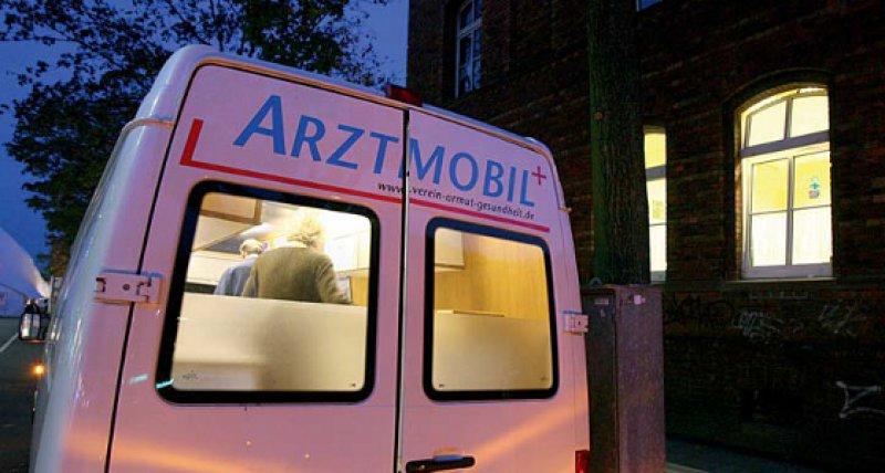 Aufsuchende Medizin: Obdachlose, wie hier in Mainz, brauchen andere therapeutische An gebote als der Durchschnittspatient. Foto: dpa