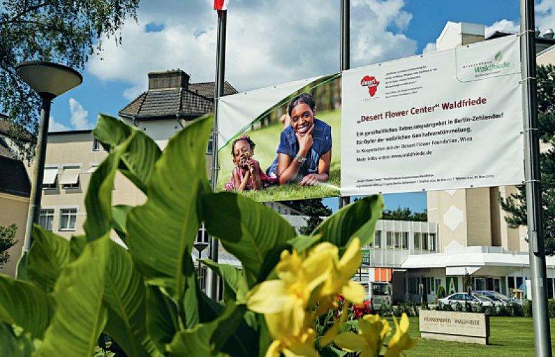 Krankenhaus Waldfriede: Im Desert Flower Center kümmert man sich ganzheitlich um Opfer weiblicher Genitalverstümmelung. Fotos: Georg J. Lopata