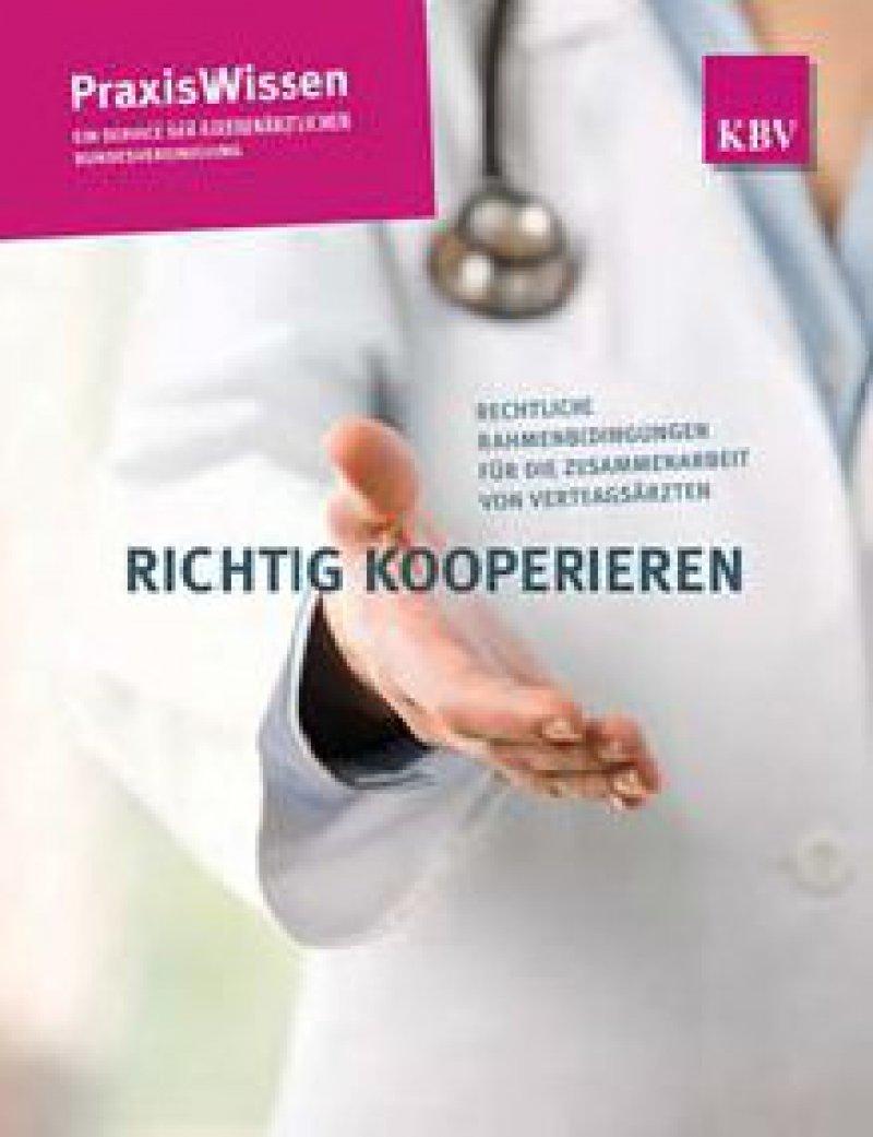 Service für Vertragsärzte: Die Broschüre steht unter www.kbv.de zum Download bereit.