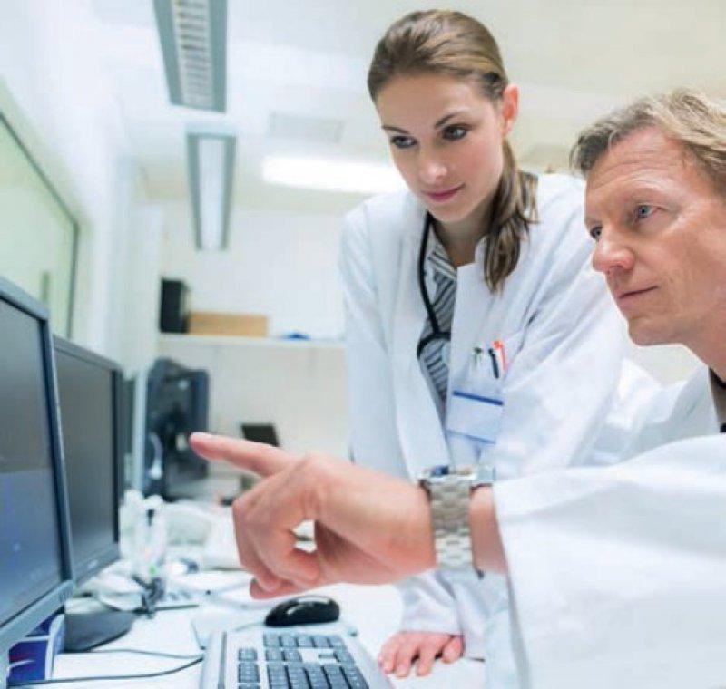 Die Innere Medizin ist vielfältig: Die Schwerpunktweiterbildungen reichen von der Angiologie über die Kardiologie bis hin zur Diabetologie oder Onkologie. Foto: iStockphoto