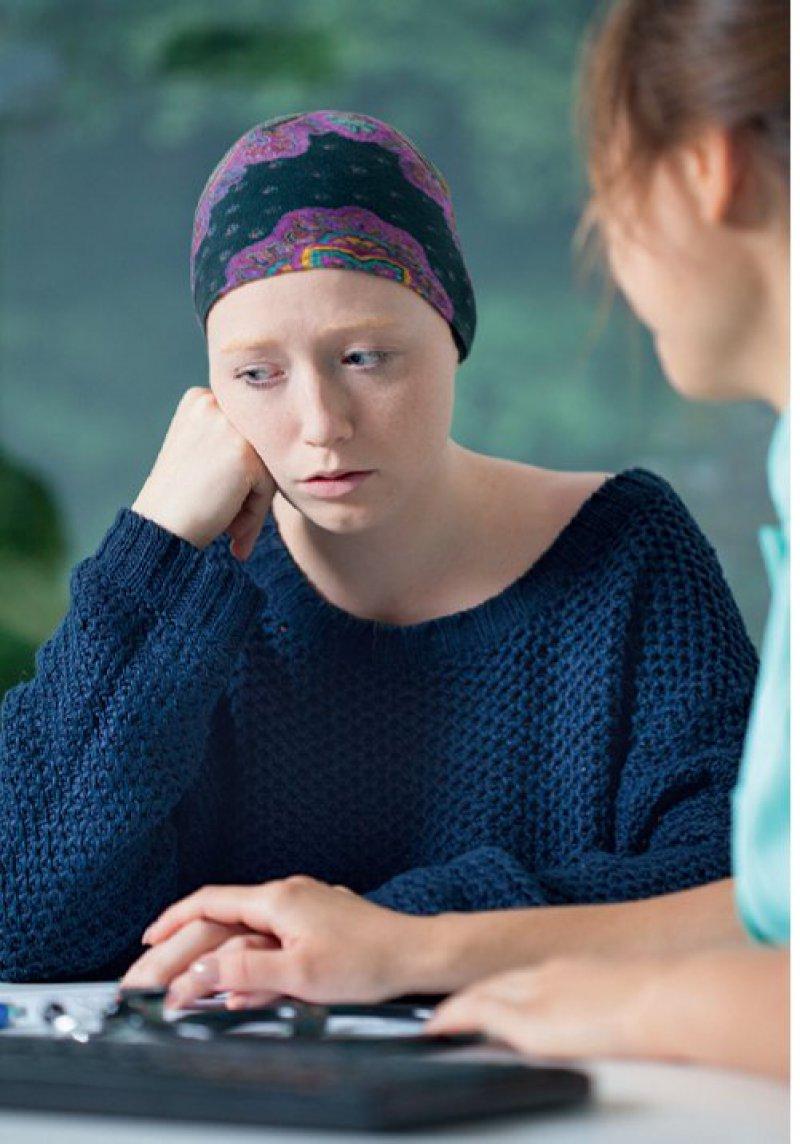 Eine Krebserkrankung hat nicht nur körperliche, sondern auch seelische Folgen. Foto: iStockphoto