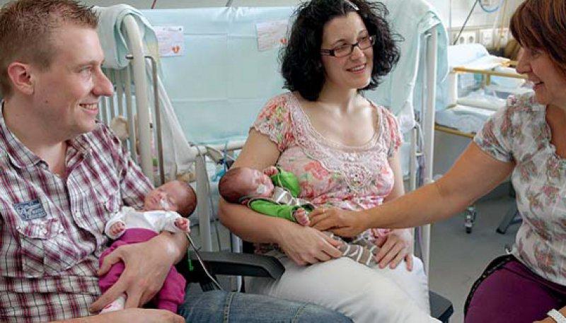Der Bunte Kreis unterstützt Familien bei der sozialmedizinischen Nachsorge. Foto: BV Bunter Kreis