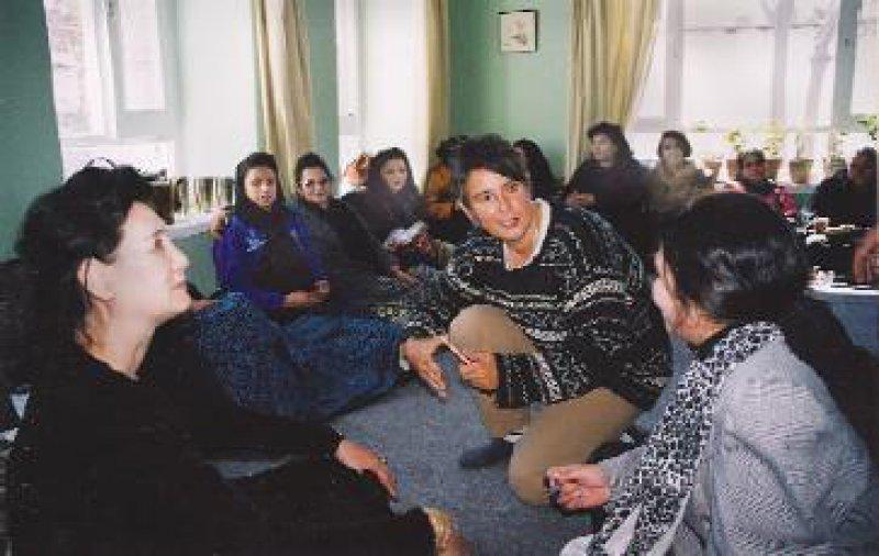 Monika Hauser leitete Anfang des Jahres ein Seminar in Kabul. Foto: medica mondiale