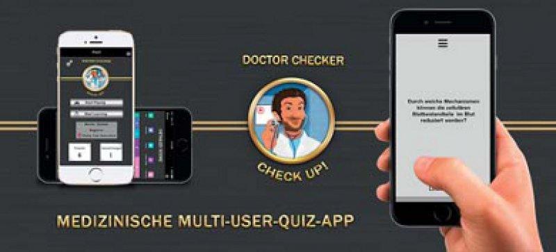 Lernen für unterwegs und mit anderen: Das Quiz eignet sich für alle Nutzer und spornt im Wettbewerb an. Foto: obs/Doctor Checker