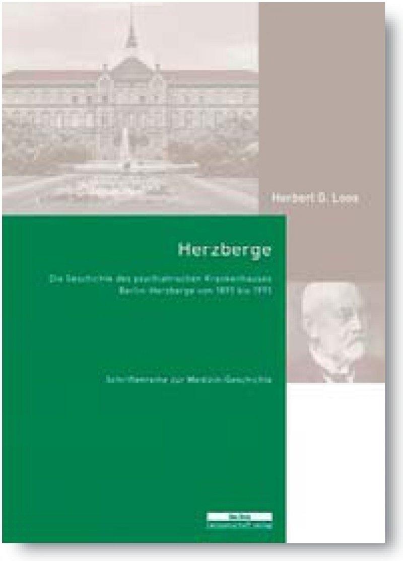 Herbert G. Loos: Herzberge. Die Geschichte des psychiatrischen Krankenhauses Berlin-Herzberge von 1893 bis 1993. be.bra wissenschaft verlag, Berlin 2014, 254 Seiten, gebunden, 30 Euro