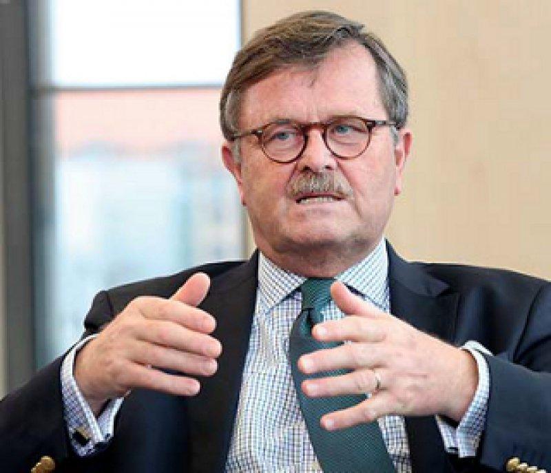 Frank Ulrich Montgomery ist seit 2011 Präsident der Bundesärztekammer. Foto: Georg J. Lopat