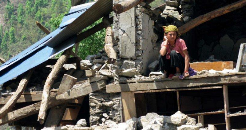Außer Trümmern ist vielen Nepalesen nach den beiden schweren Erdbeben nichts geblieben. Fotos: privat