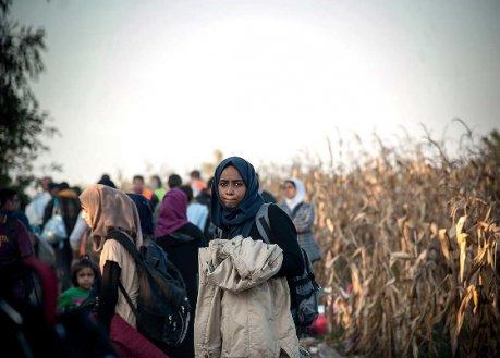 Traumatisierte Flüchtlinge