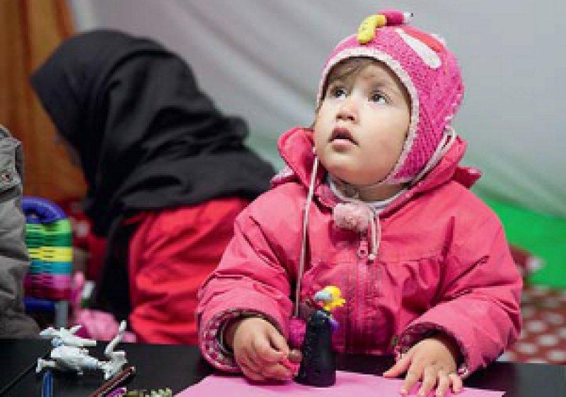 Flüchtlingskinder sollen auf hohem Niveau versorgt werden, fordern Kinder- und Jugendärzte. Foto: dpa