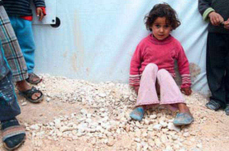 Die Menschen aus dem syrischen Kobane leben unter sehr schwierigen Verhältnissen. Foto: picture alliance