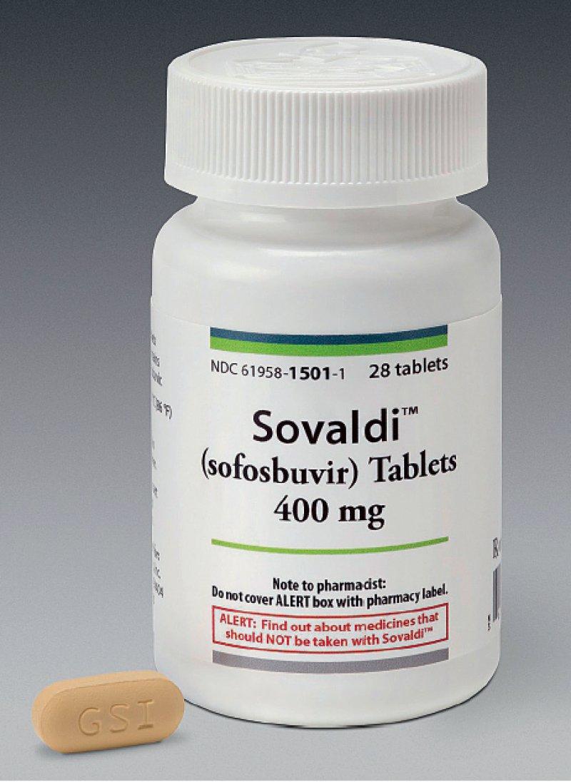 """Als """"1 000-Dollar-Pille"""" sorgte Sovaldi für Schlagzeilen. Patientenvertreter warnen, die öffentliche Preisdiskussion verunsichere die Menschen mit einer Hepatitis-C-Infektion. Foto: Sofosbuvir/Gilead"""