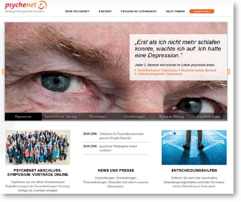 www.psychenet.de: Evidenzbasierte Informationsressource für Patienten und auch für Fachkräfte