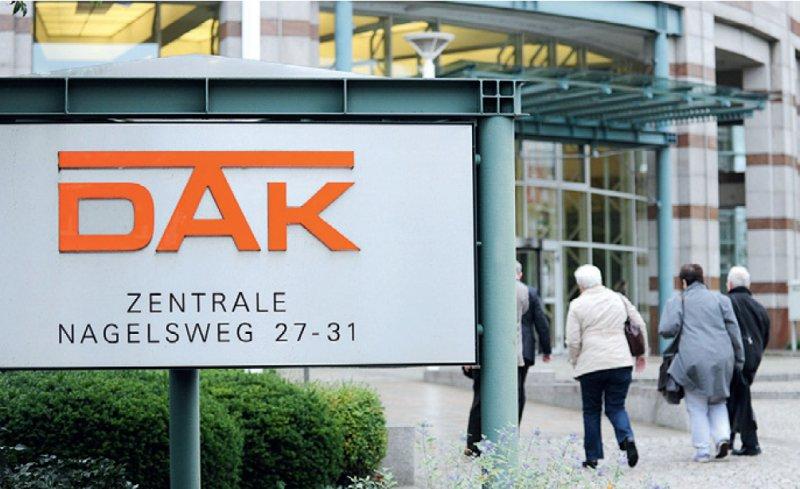 Drittgrößte Kasse Deutschlands: Die DAK hat etwa sechs Millionen Mitglieder. Foto: dpa