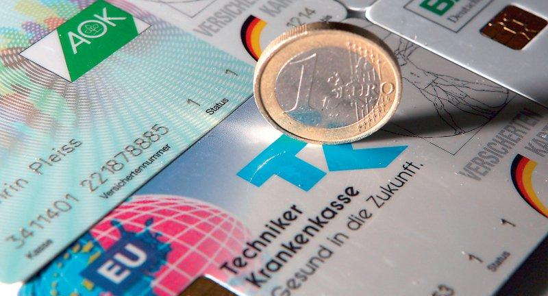 Ein Euro, drei Kassen: Über die gerechte Verteilung der Gelder im Rahmen des Morbi-RSA wird seit seiner Gründung gestritten. Foto: dpa