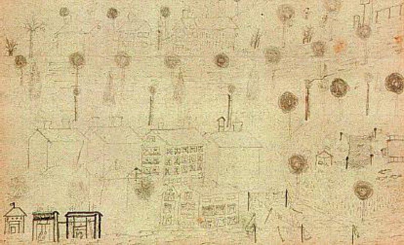 Zeichnung der Psychiatriepatientin Auguste O. (Bleistift auf Papier, 9,1 x 14 cm): Wie sie mussten weitere 70 272 Patienten in Gaskammern des damaligen Deutschen Reiches sterben.Foto: Sammlung Prinzhorn