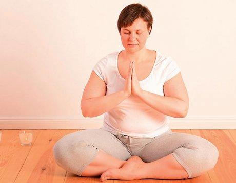 Yoga bei Adipositas