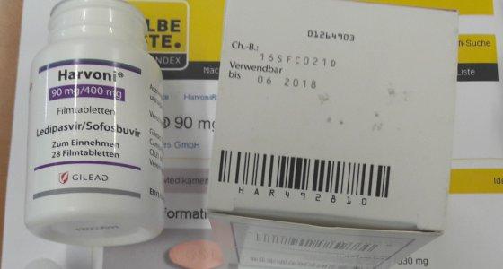 Gefälschte Hepatitis-Tabletten auf deutschen Markt gelangt