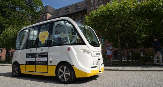 Startschuss für Projekt mit fahrerlosen Kleinbussen