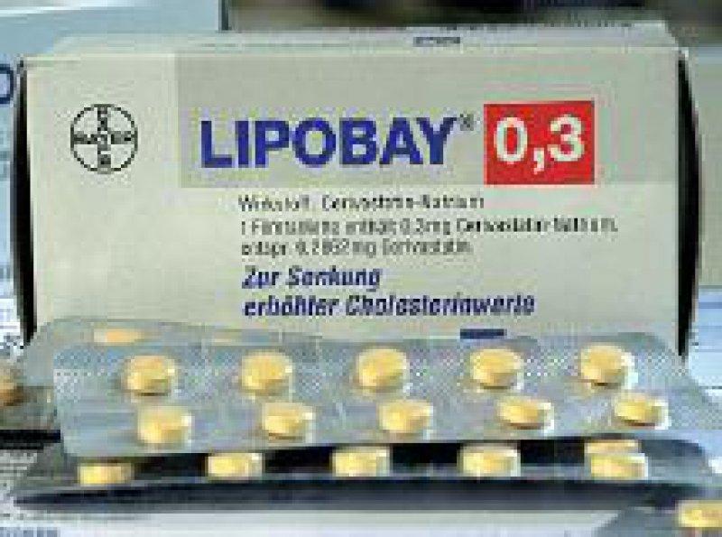 Im Fall Lipobay wollen Rechtsanwälte Verhandlung vor US-Gerichten. Foto: dpa