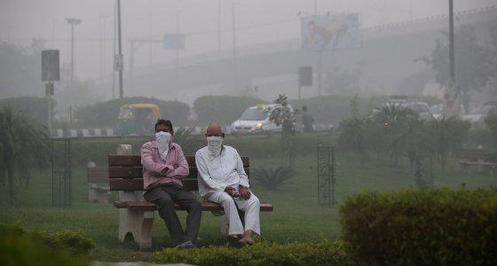 Gesundheitsnotstand für Neu Delhi wegen Smogs ausgerufen